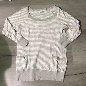 Aerie Striped Sweatshirt